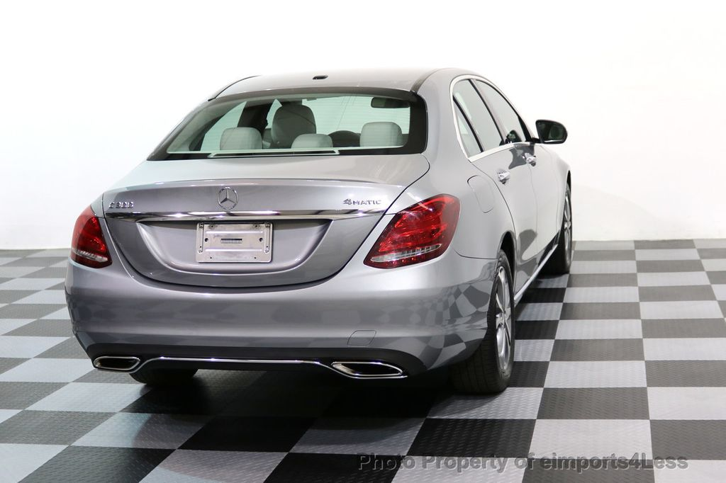 2015 Mercedes-Benz C-Class CERTIFIED C300 4Matic AWD LED LIGHTS CAMERA NAVI - 17057498 - 16