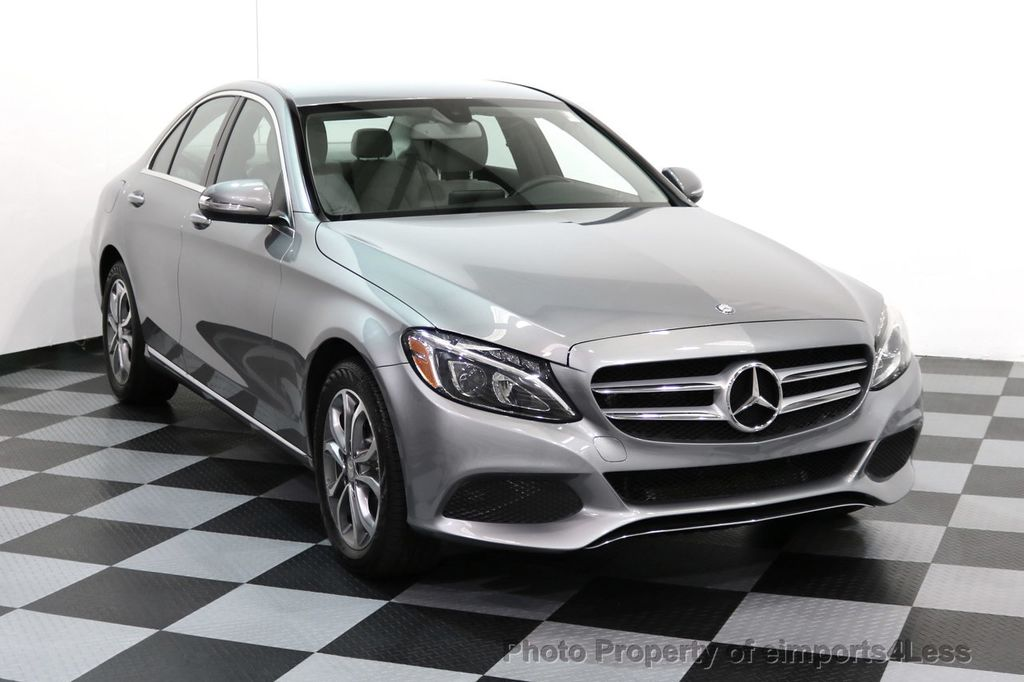 2015 Mercedes-Benz C-Class CERTIFIED C300 4Matic AWD LED LIGHTS CAMERA NAVI - 17057498 - 1