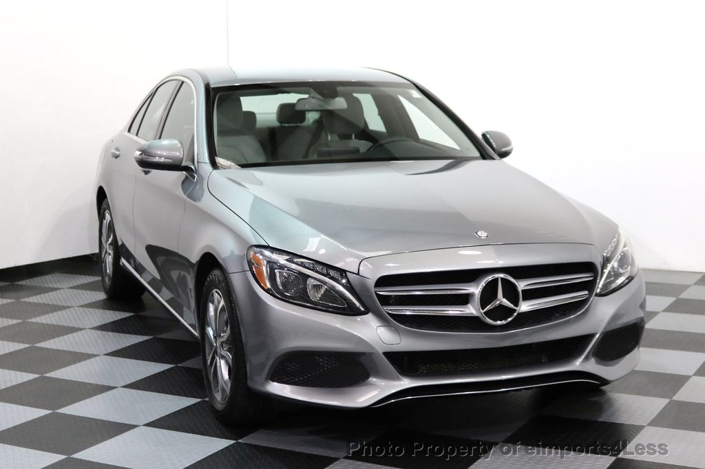 2015 Mercedes-Benz C-Class CERTIFIED C300 4Matic AWD LED LIGHTS CAMERA NAVI - 17057498 - 30