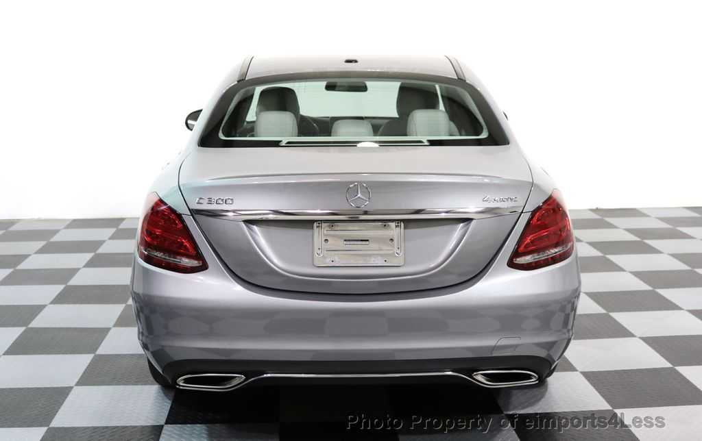 2015 Mercedes-Benz C-Class CERTIFIED C300 4Matic AWD LED LIGHTS CAMERA NAVI - 17057498 - 32