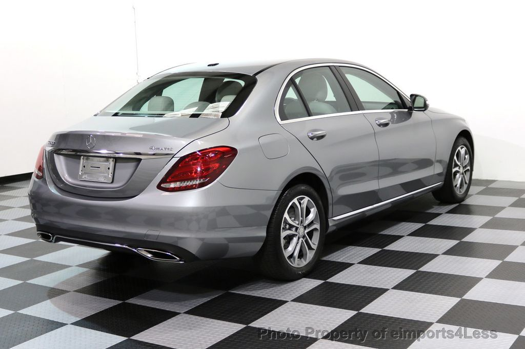 2015 Mercedes-Benz C-Class CERTIFIED C300 4Matic AWD LED LIGHTS CAMERA NAVI - 17057498 - 33