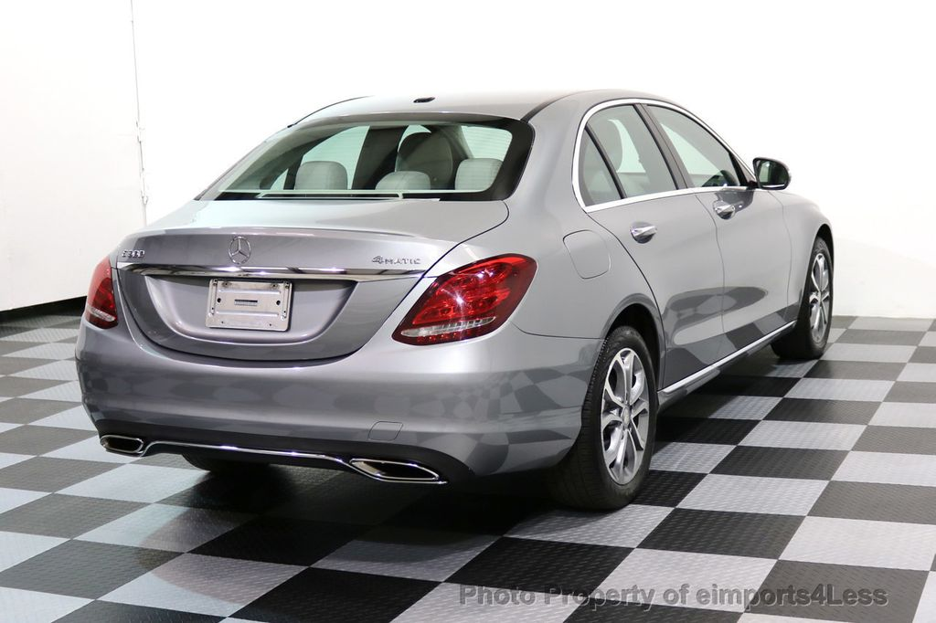 2015 Mercedes-Benz C-Class CERTIFIED C300 4Matic AWD LED LIGHTS CAMERA NAVI - 17057498 - 3