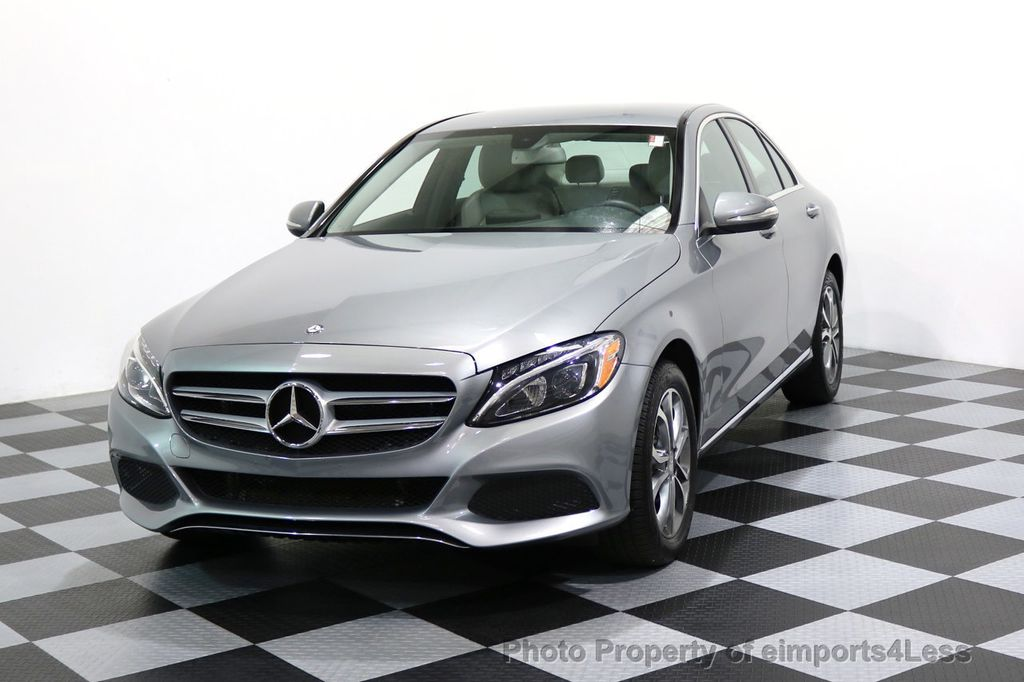 2015 Mercedes-Benz C-Class CERTIFIED C300 4Matic AWD LED LIGHTS CAMERA NAVI - 17057498 - 41