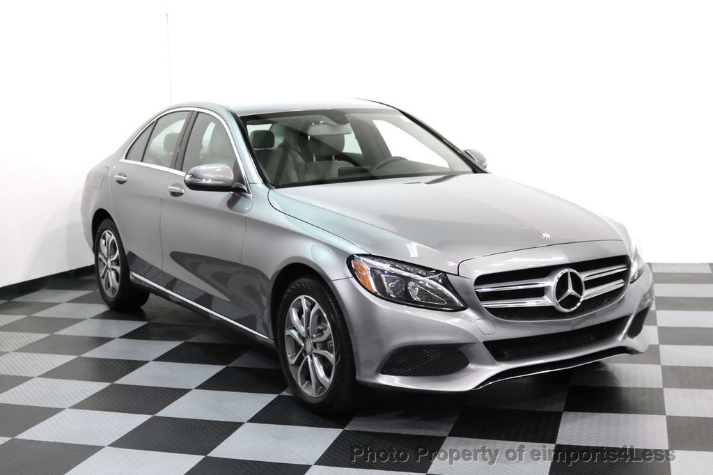2015 Mercedes-Benz C-Class CERTIFIED C300 4Matic AWD LED LIGHTS CAMERA NAVI - 17057498 - 42