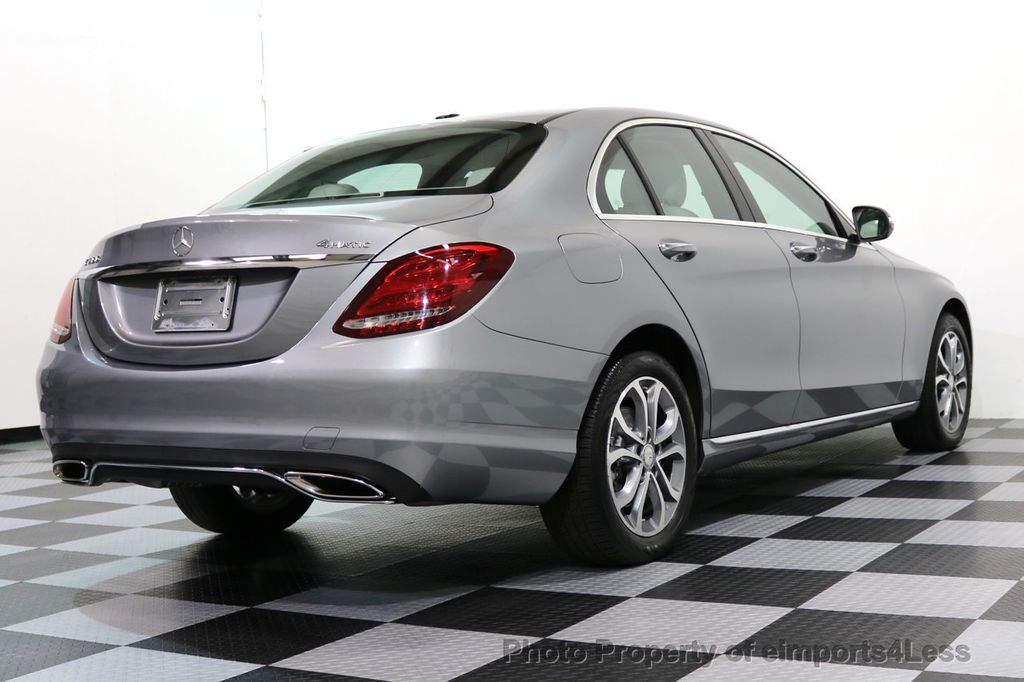2015 Mercedes-Benz C-Class CERTIFIED C300 4Matic AWD LED LIGHTS CAMERA NAVI - 17057498 - 44