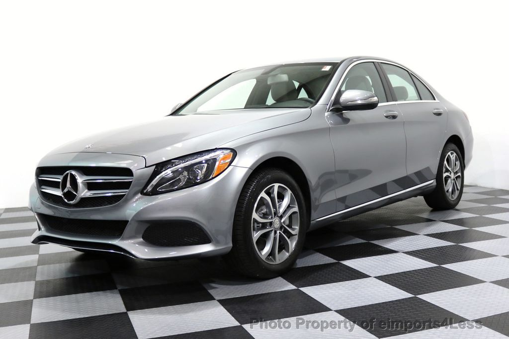 2015 Mercedes-Benz C-Class CERTIFIED C300 4Matic AWD LED LIGHTS CAMERA NAVI - 17057498 - 50