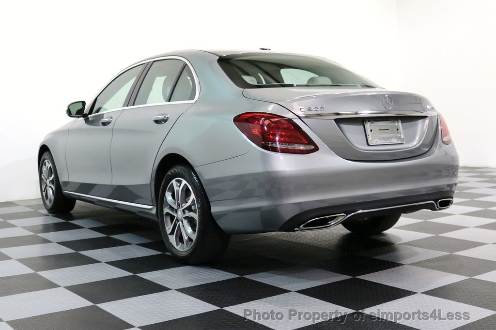 2015 Mercedes-Benz C-Class CERTIFIED C300 4Matic AWD LED LIGHTS CAMERA NAVI - 17057498 - 51