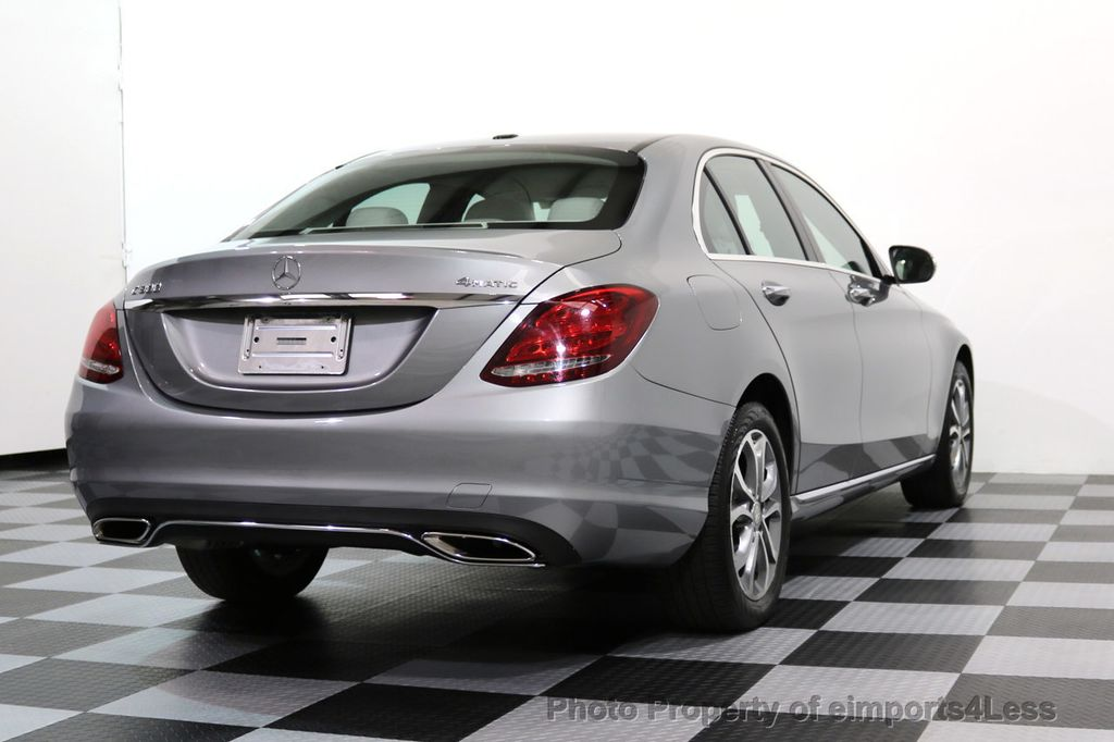 2015 Mercedes-Benz C-Class CERTIFIED C300 4Matic AWD LED LIGHTS CAMERA NAVI - 17057498 - 52