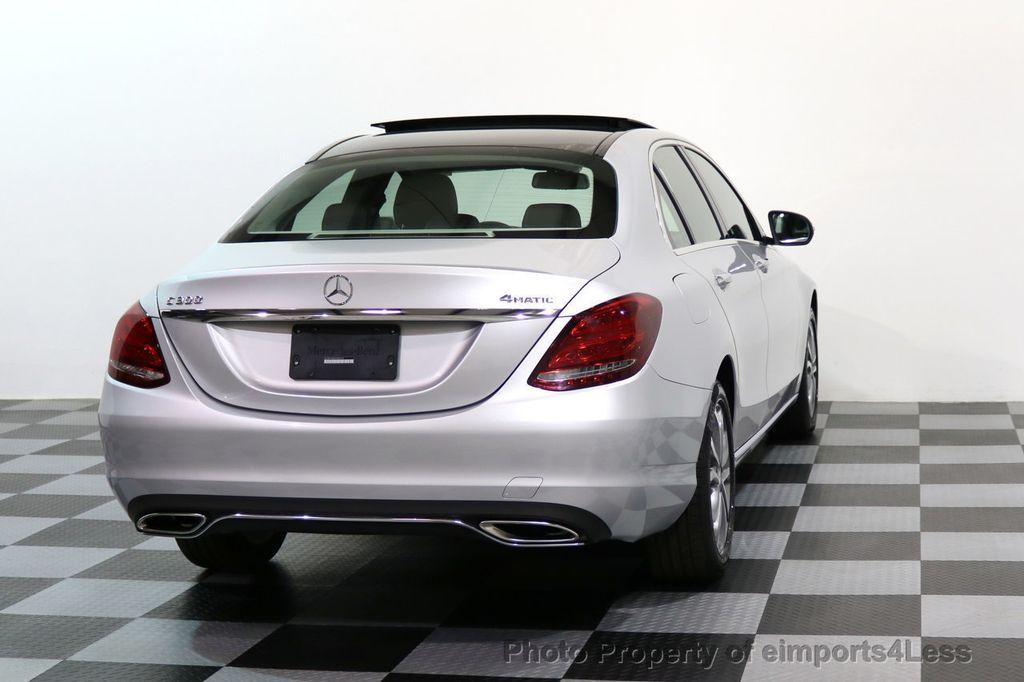 2015 Mercedes-Benz C-Class CERTIFIED C300 4Matic AWD LED LIGHTS CAMERA NAVI - 17124080 - 30