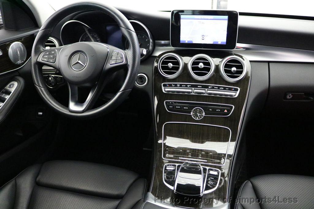 2015 Mercedes-Benz C-Class CERTIFIED C300 4Matic AWD LED LIGHTS CAMERA NAVI - 17124080 - 32