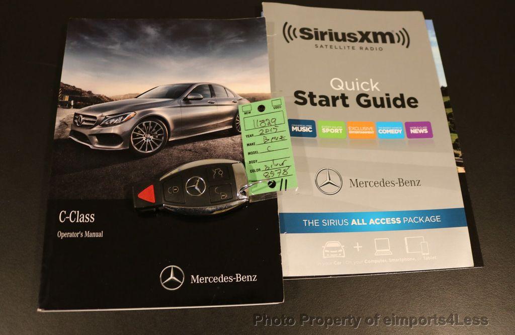 2015 Mercedes-Benz C-Class CERTIFIED C300 4Matic AWD LED LIGHTS CAMERA NAVI - 17124080 - 36