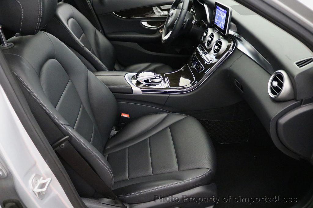 2015 Mercedes-Benz C-Class CERTIFIED C300 4Matic AWD LED LIGHTS CAMERA NAVI - 17124080 - 44