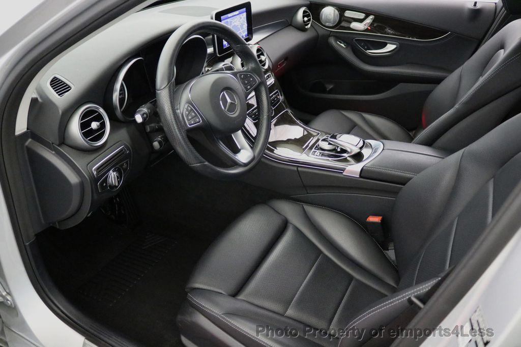 2015 Mercedes-Benz C-Class CERTIFIED C300 4Matic AWD LED LIGHTS CAMERA NAVI - 17124080 - 47