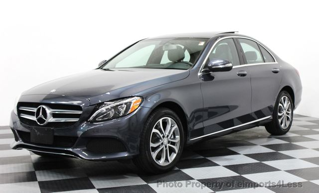 2015 Used Mercedes-Benz C-Class CERTIFIED C300 4MATIC AWD LED LIGHTS  NAVIGATION at eimports4Less Serving Doylestown, Bucks County, PA, IID  16237484