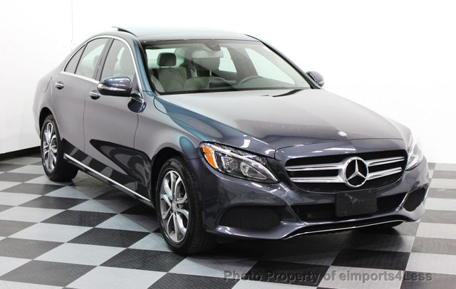 2015 used mercedes benz c class certified c300 4matic awd led lights navigation at eimports4less. Black Bedroom Furniture Sets. Home Design Ideas