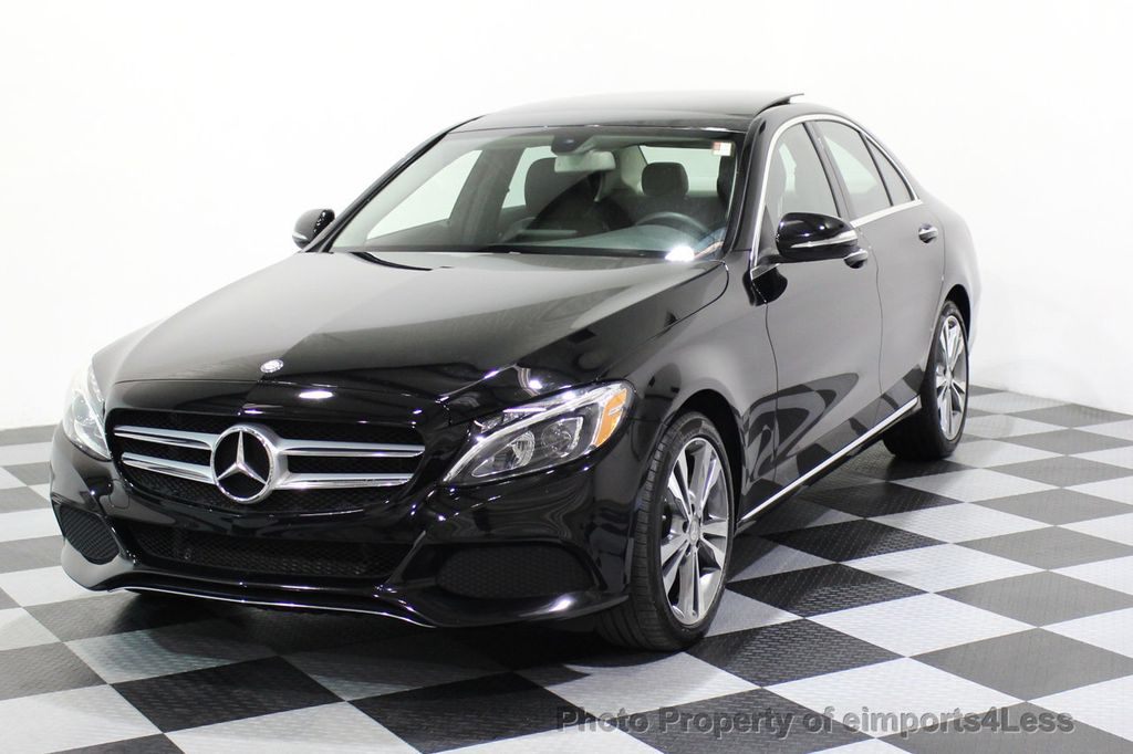 2015 Mercedes-Benz C-Class CERTIFIED C300 4Matic AWD PANO LED CAMERA NAVI - 17526652 - 0