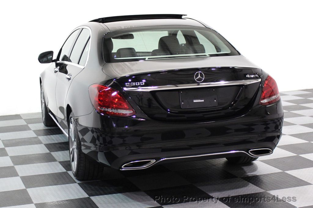 2015 Mercedes-Benz C-Class CERTIFIED C300 4Matic AWD PANO LED CAMERA NAVI - 17526652 - 15