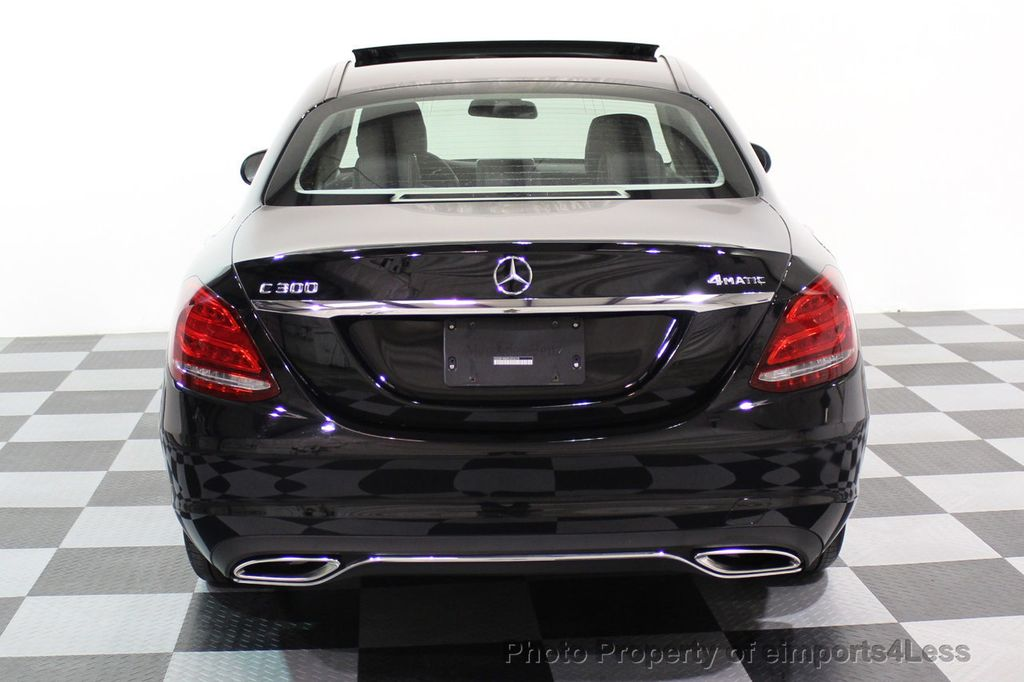 2015 Mercedes-Benz C-Class CERTIFIED C300 4Matic AWD PANO LED CAMERA NAVI - 17526652 - 16