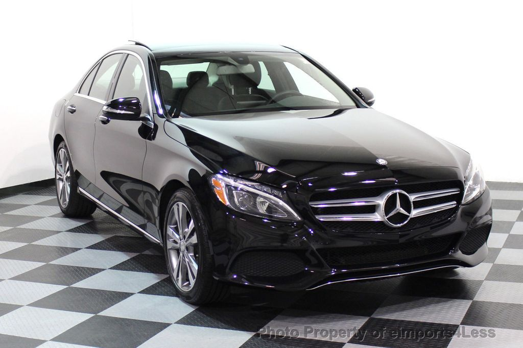 2015 Mercedes-Benz C-Class CERTIFIED C300 4Matic AWD PANO LED CAMERA NAVI - 17526652 - 1