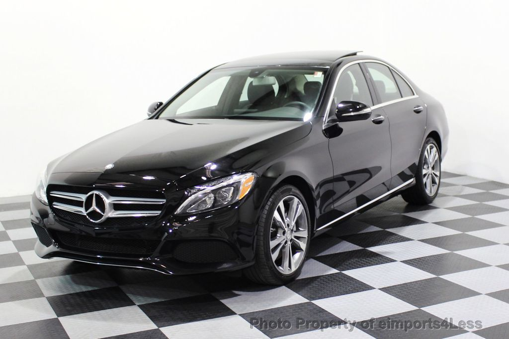 2015 Mercedes-Benz C-Class CERTIFIED C300 4Matic AWD PANO LED CAMERA NAVI - 17526652 - 28