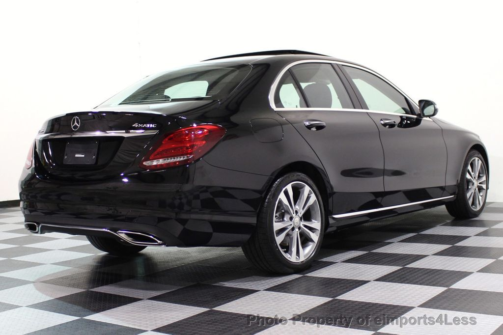 2015 Mercedes-Benz C-Class CERTIFIED C300 4Matic AWD PANO LED CAMERA NAVI - 17526652 - 32