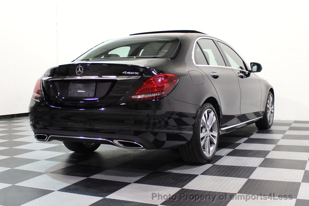 2015 Mercedes-Benz C-Class CERTIFIED C300 4Matic AWD PANO LED CAMERA NAVI - 17526652 - 46