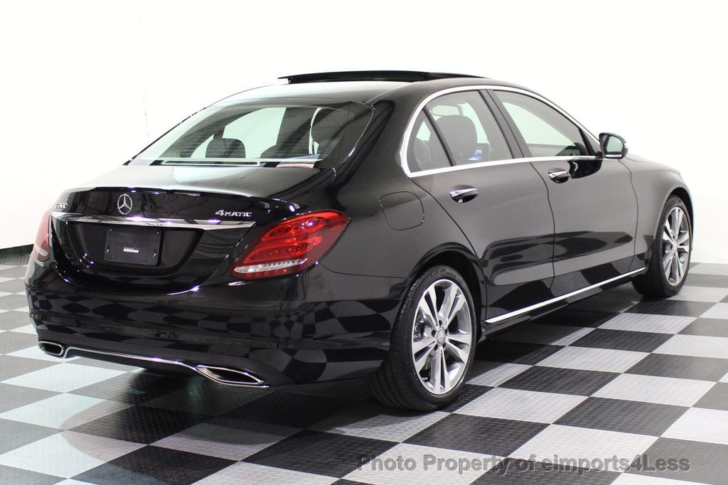 2015 Mercedes-Benz C-Class CERTIFIED C300 4Matic AWD PANO LED CAMERA NAVI - 17526652 - 53