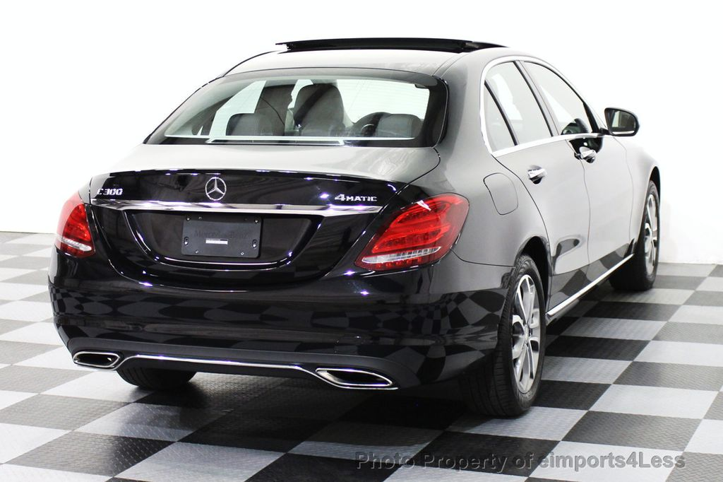 2015 used mercedes benz c class certified c300 4matic awd for Mercedes benz certified used cars