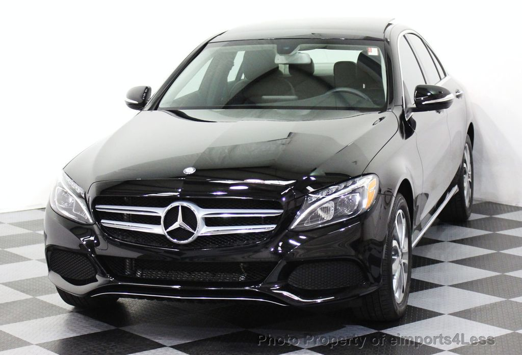 2015 used mercedes benz c class certified c300 4matic awd sedan camera navigation at. Black Bedroom Furniture Sets. Home Design Ideas