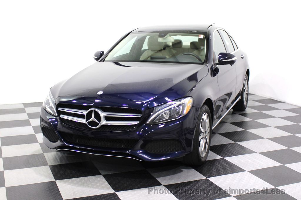 2015 Mercedes-Benz C-Class CERTIFIED C300 4Matic NAV PANO AWD Burmester LED - 18147497 - 12