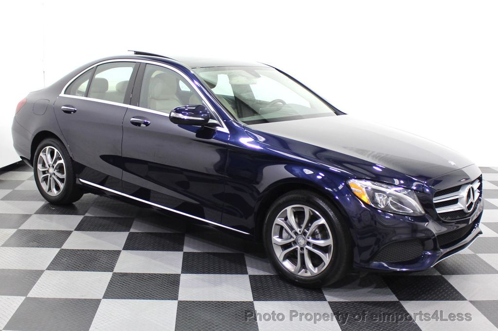2015 Mercedes-Benz C-Class CERTIFIED C300 4Matic NAV PANO AWD Burmester LED - 18147497 - 13