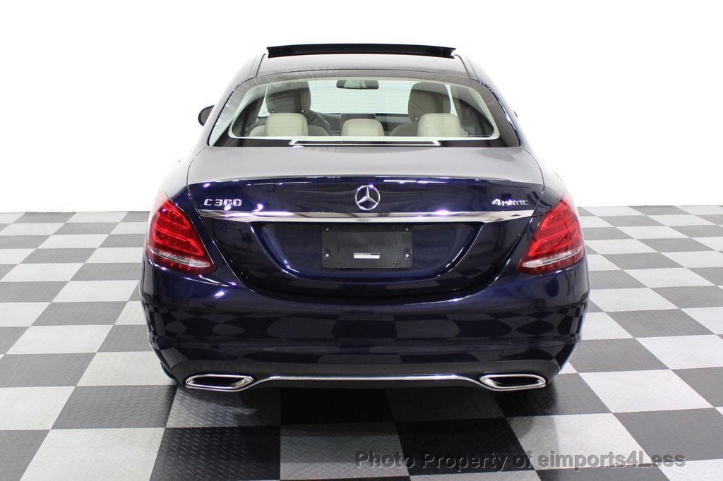 2015 Mercedes-Benz C-Class CERTIFIED C300 4Matic NAV PANO AWD Burmester LED - 18147497 - 15
