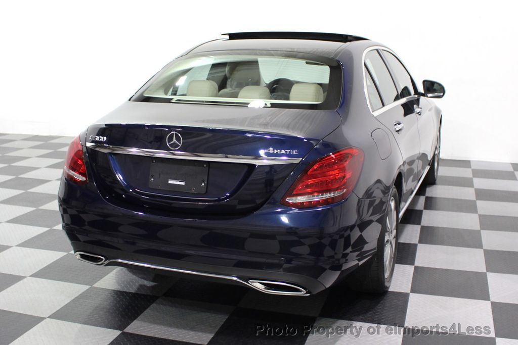 2015 Mercedes-Benz C-Class CERTIFIED C300 4Matic NAV PANO AWD Burmester LED - 18147497 - 16