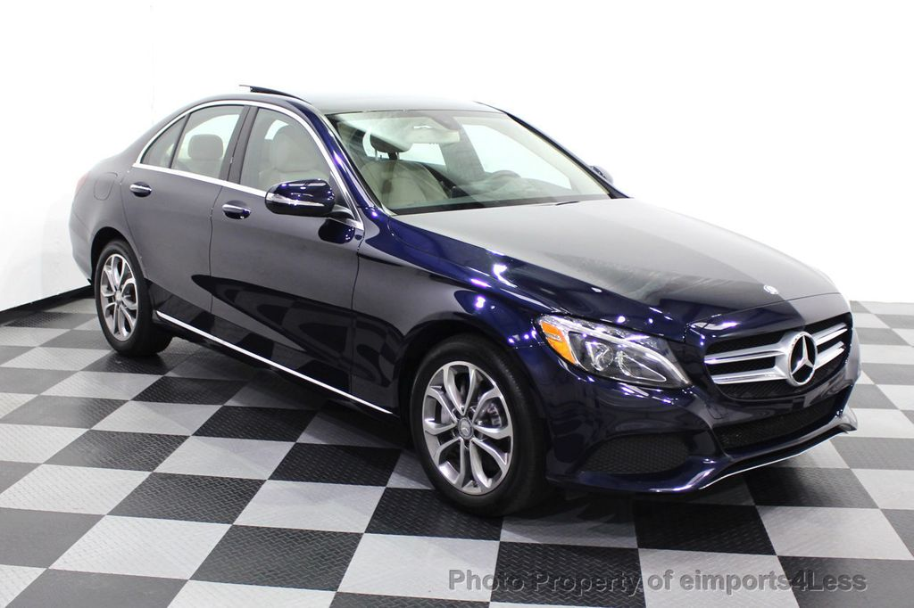 2015 Mercedes-Benz C-Class CERTIFIED C300 4Matic NAV PANO AWD Burmester LED - 18147497 - 1