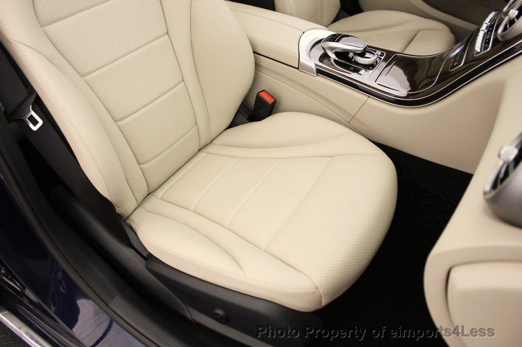 2015 Mercedes-Benz C-Class CERTIFIED C300 4Matic NAV PANO AWD Burmester LED - 18147497 - 22