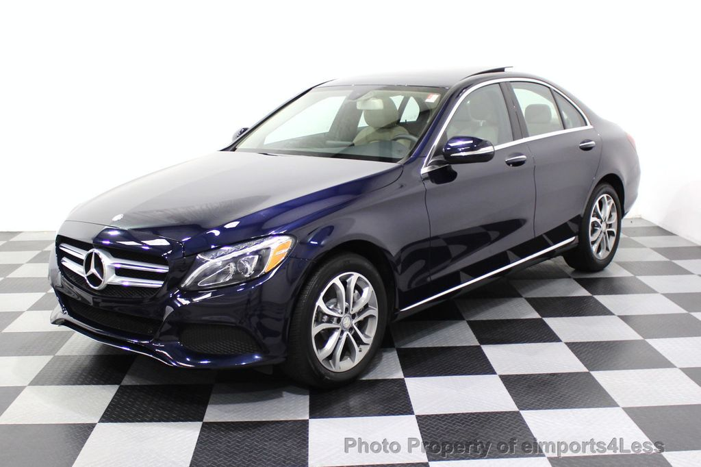 2015 Mercedes-Benz C-Class CERTIFIED C300 4Matic NAV PANO AWD Burmester LED - 18147497 - 26