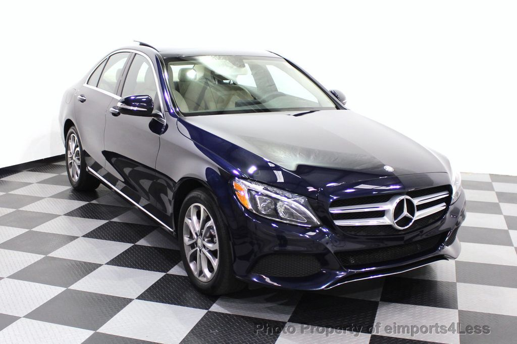 2015 Mercedes-Benz C-Class CERTIFIED C300 4Matic NAV PANO AWD Burmester LED - 18147497 - 27