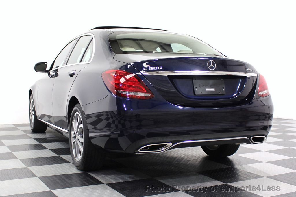 2015 Mercedes-Benz C-Class CERTIFIED C300 4Matic NAV PANO AWD Burmester LED - 18147497 - 28