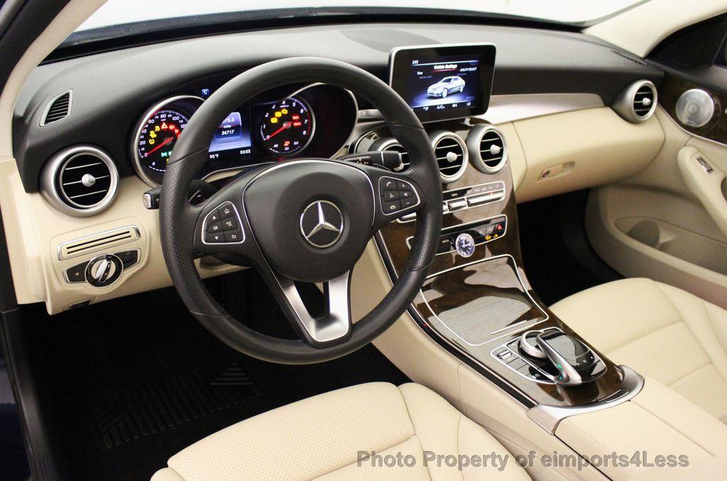 2015 Mercedes-Benz C-Class CERTIFIED C300 4Matic NAV PANO AWD Burmester LED - 18147497 - 31