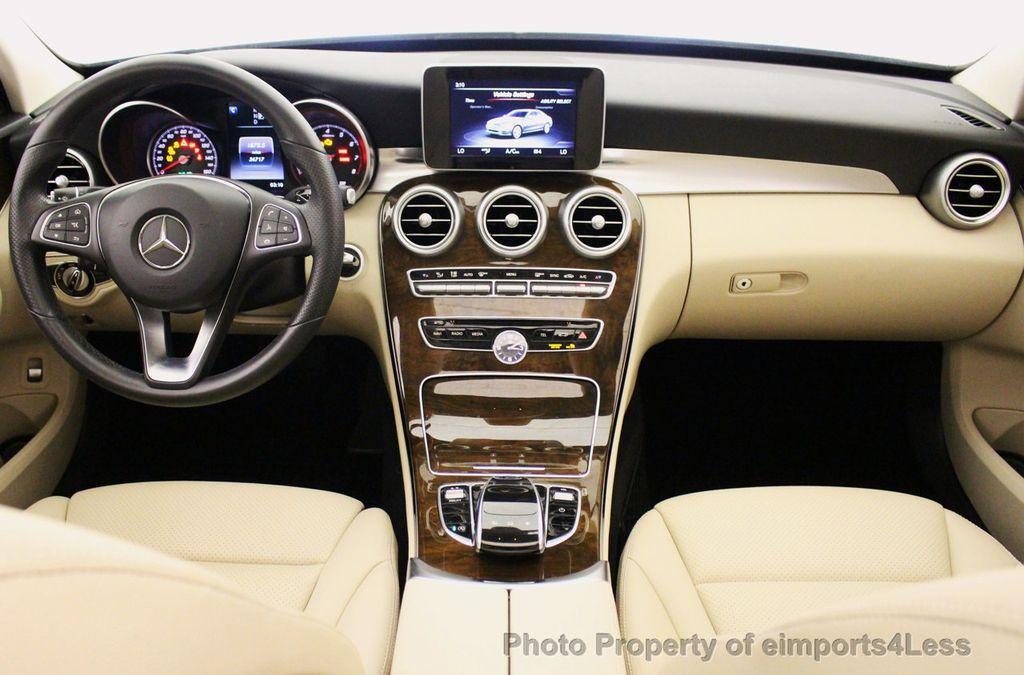 2015 Mercedes-Benz C-Class CERTIFIED C300 4Matic NAV PANO AWD Burmester LED - 18147497 - 32