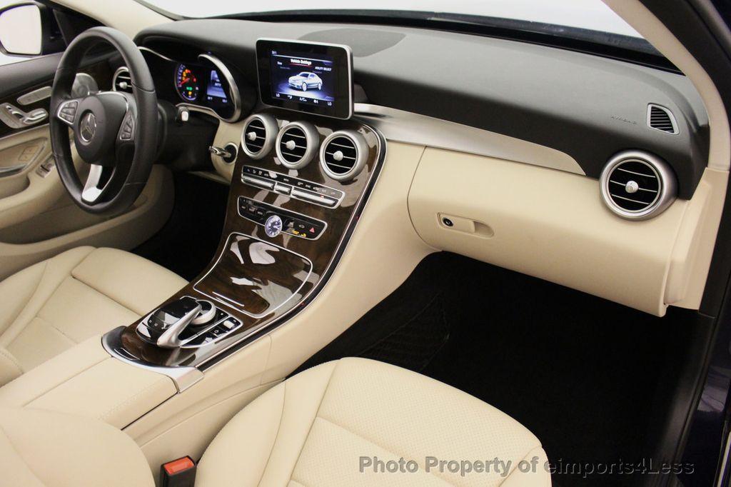 2015 Mercedes-Benz C-Class CERTIFIED C300 4Matic NAV PANO AWD Burmester LED - 18147497 - 33