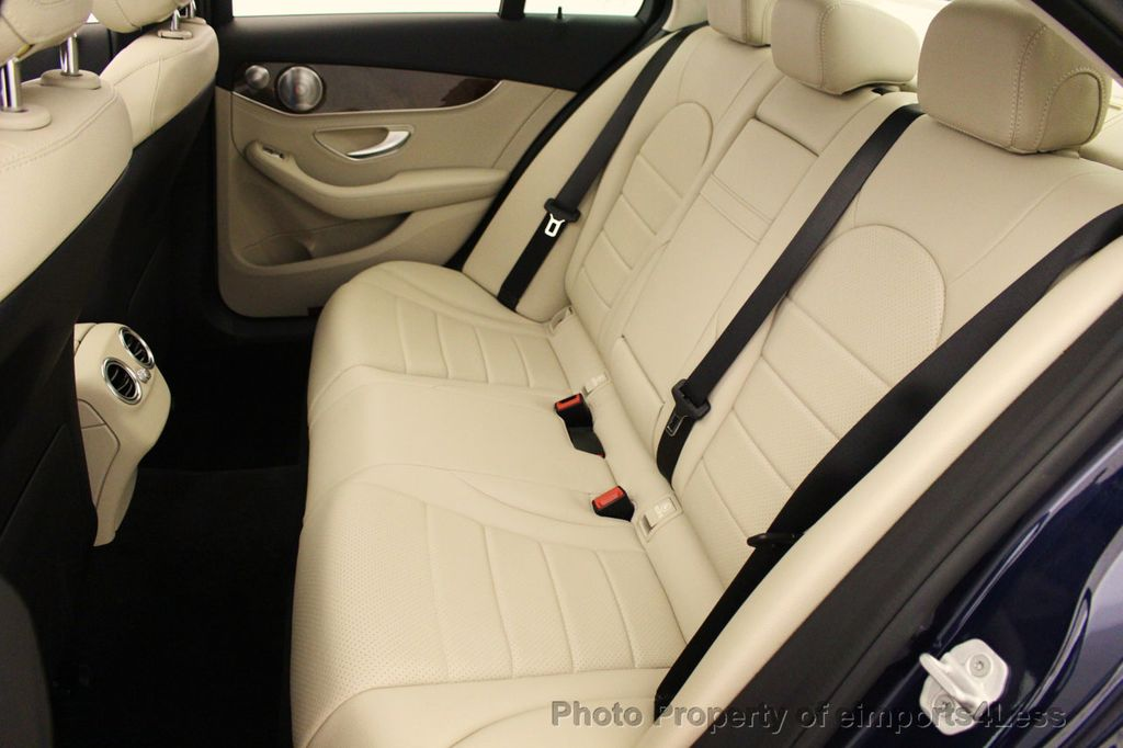 2015 Mercedes-Benz C-Class CERTIFIED C300 4Matic NAV PANO AWD Burmester LED - 18147497 - 34