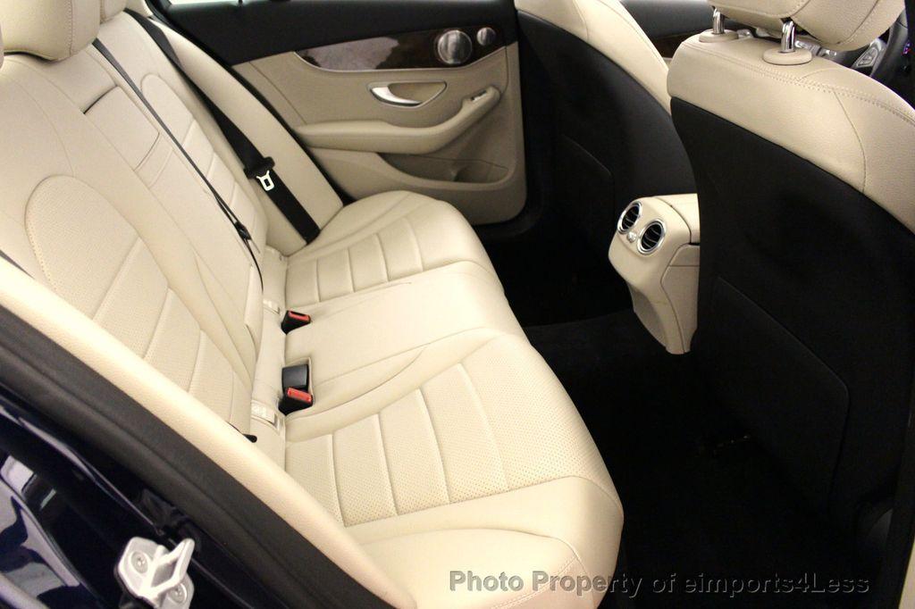 2015 Mercedes-Benz C-Class CERTIFIED C300 4Matic NAV PANO AWD Burmester LED - 18147497 - 35