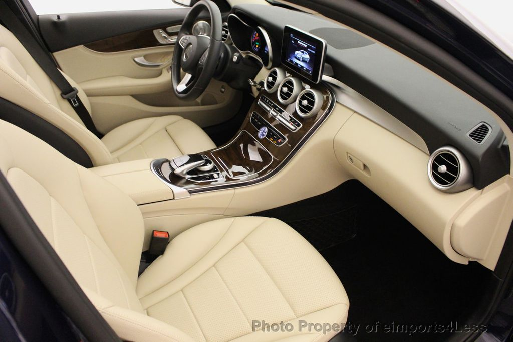 2015 Mercedes-Benz C-Class CERTIFIED C300 4Matic NAV PANO AWD Burmester LED - 18147497 - 37