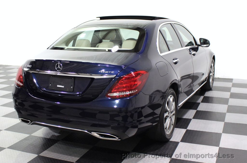 2015 Mercedes-Benz C-Class CERTIFIED C300 4Matic NAV PANO AWD Burmester LED - 18147497 - 3