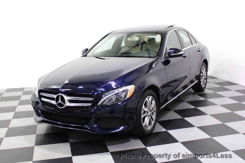 2015 Mercedes-Benz C-Class CERTIFIED C300 4Matic NAV PANO AWD Burmester LED - 18147497 - 41