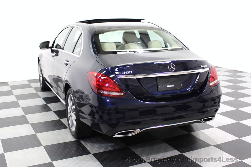 2015 Mercedes-Benz C-Class CERTIFIED C300 4Matic NAV PANO AWD Burmester LED - 18147497 - 43