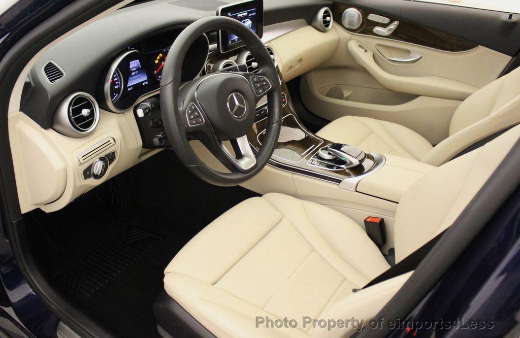 2015 Mercedes-Benz C-Class CERTIFIED C300 4Matic NAV PANO AWD Burmester LED - 18147497 - 46