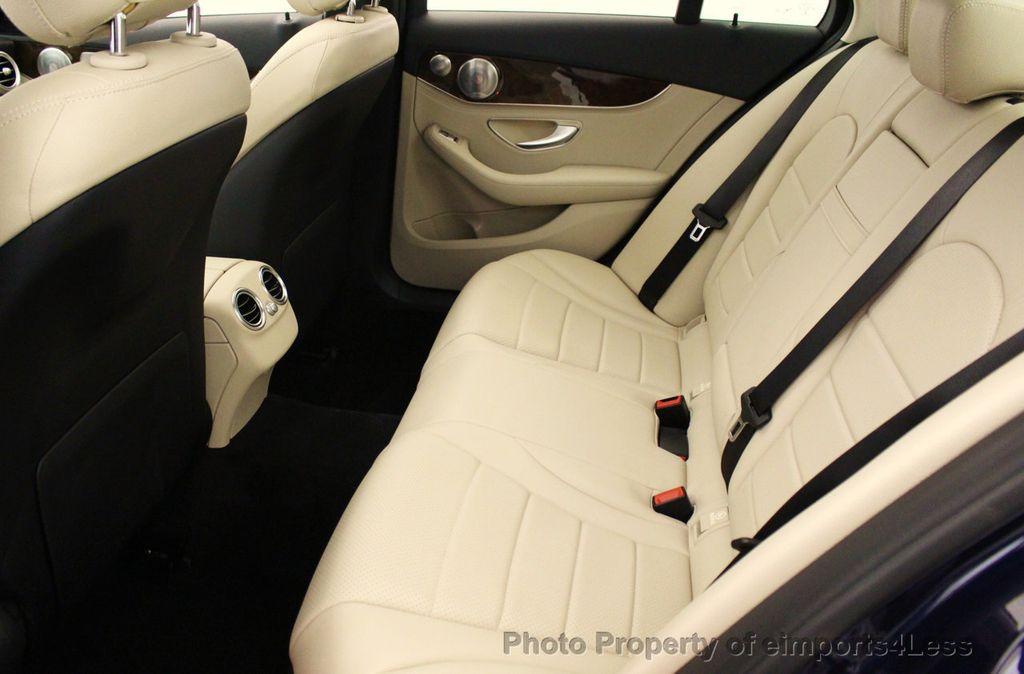 2015 Mercedes-Benz C-Class CERTIFIED C300 4Matic NAV PANO AWD Burmester LED - 18147497 - 48