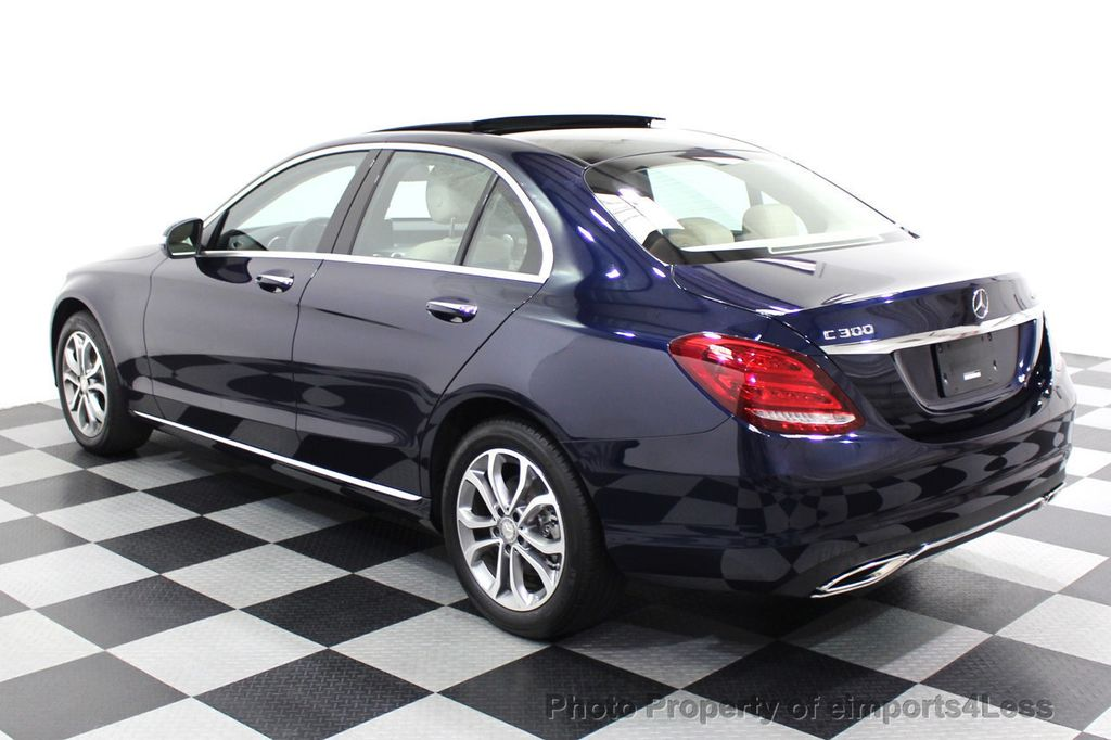 2015 Mercedes-Benz C-Class CERTIFIED C300 4Matic NAV PANO AWD Burmester LED - 18147497 - 50